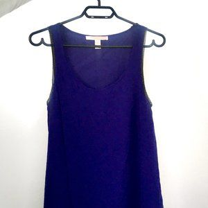 Forever 21 Navy Sleeveless Dress